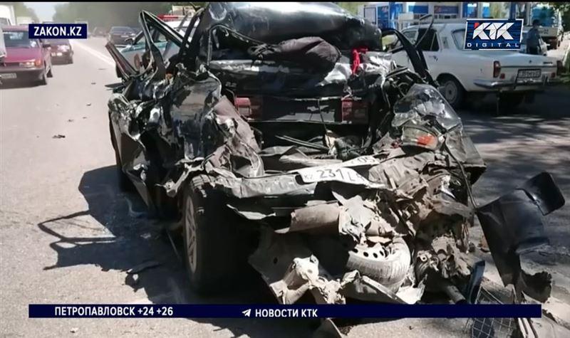 Молодой пассажир авто погиб в ДТП под Алматы