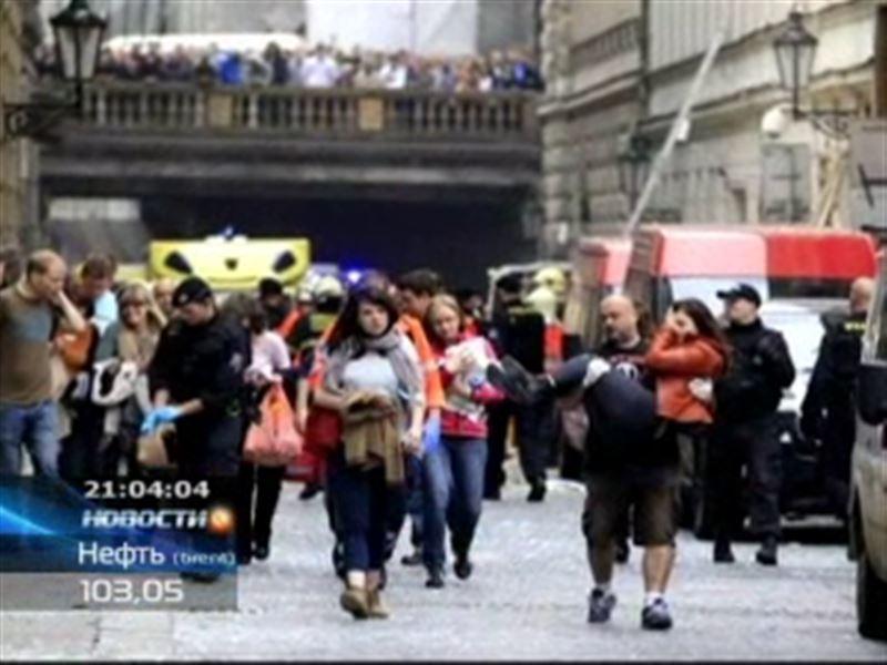 Два казахстанца пострадали при взрыве в центре Праги