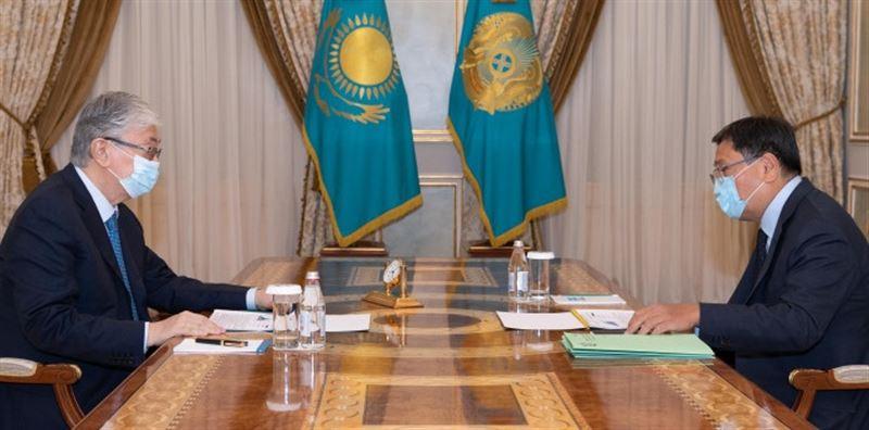 Президент Ұлттық банк төрағасын қабылдады