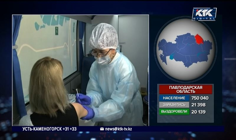 Репортеры КТК следят за вакцинацией на местах