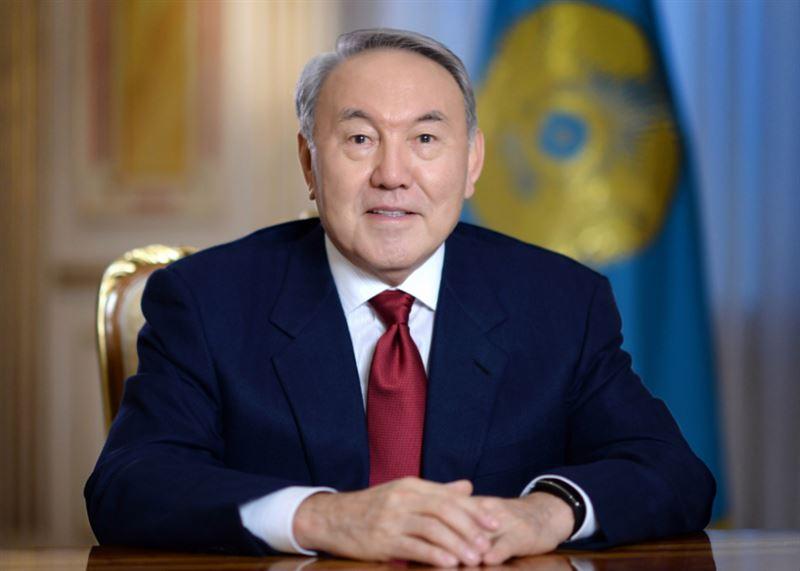 Первый Президент Казахстана Нурсултан Назарбаев поздравил казахстанцев с Днем защитника Отечества