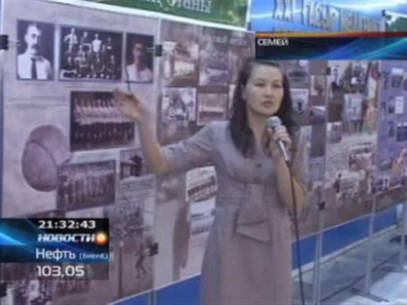 В Семее фотографы вспомнили, с чего начался казахстанский футбол