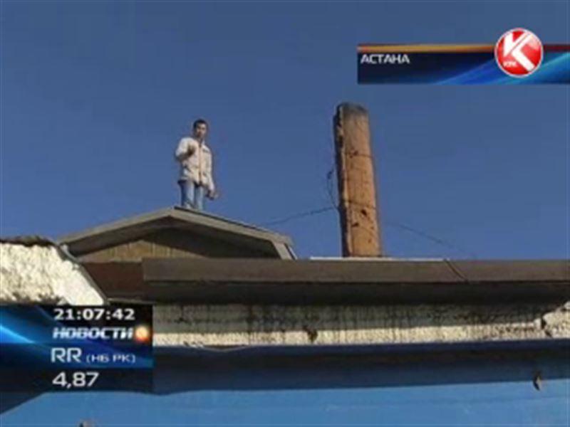 В Астане мужчина едва не покончил с собой из-за выселения