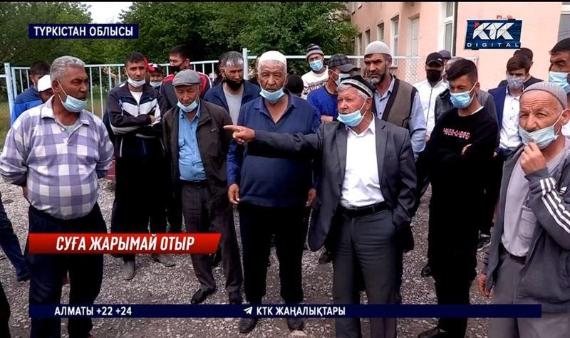 Көлкент тұрғындары суға жарымай отыр – Түркістан облысы