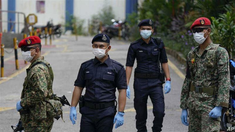 12 мая в Малайзии будет введен общенациональный локдаун
