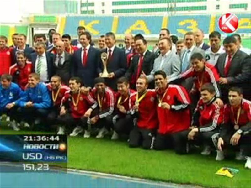 В Алматы чествовали победителей Кубка УЕФА по футзалу