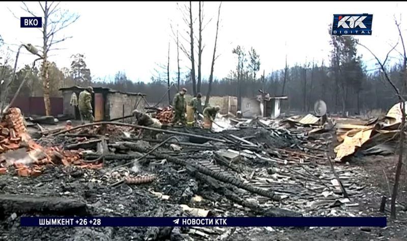 Пожар в Риддере унес жизнь пенсионерки, двое мужчин – в реанимации