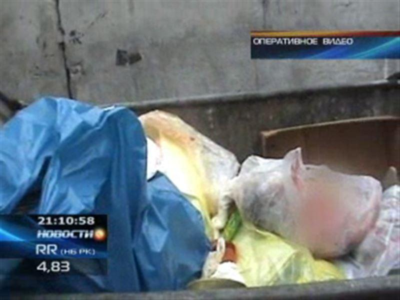 В мусорном контейнере обнаружили тело новорождённого младенца