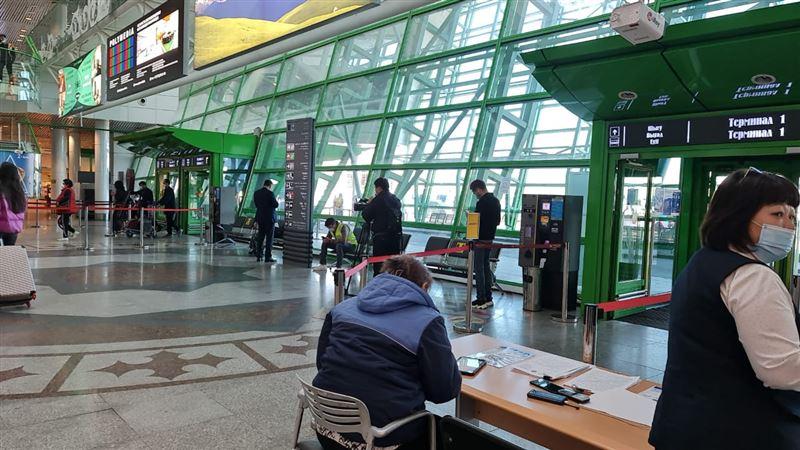 Столичный аэропорт начал работать с мобильным приложением Ashyq