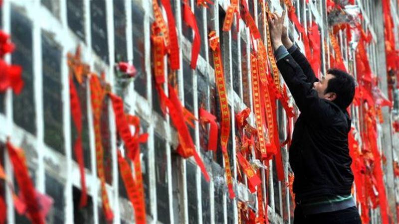 Китайцам запретили пышные похороны ради экономии средств