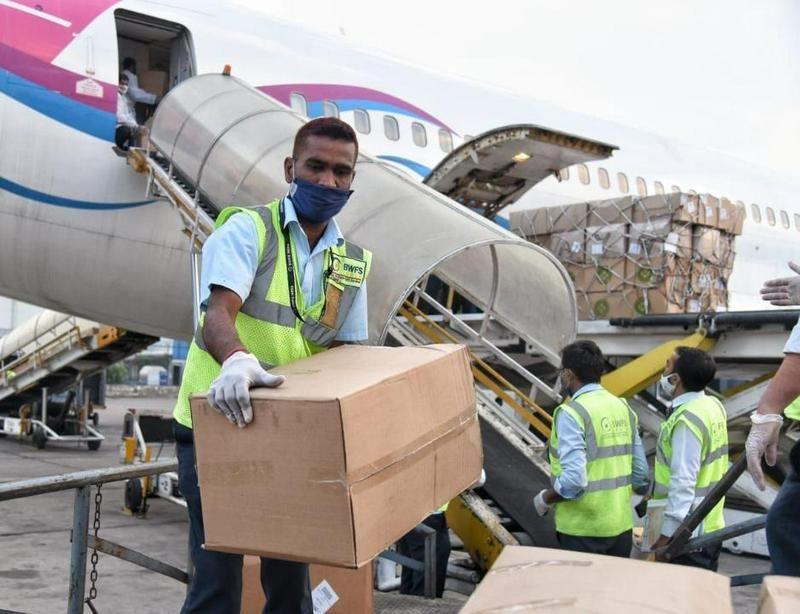 40 тонн гумпомощи отправил Казахстан в Индию