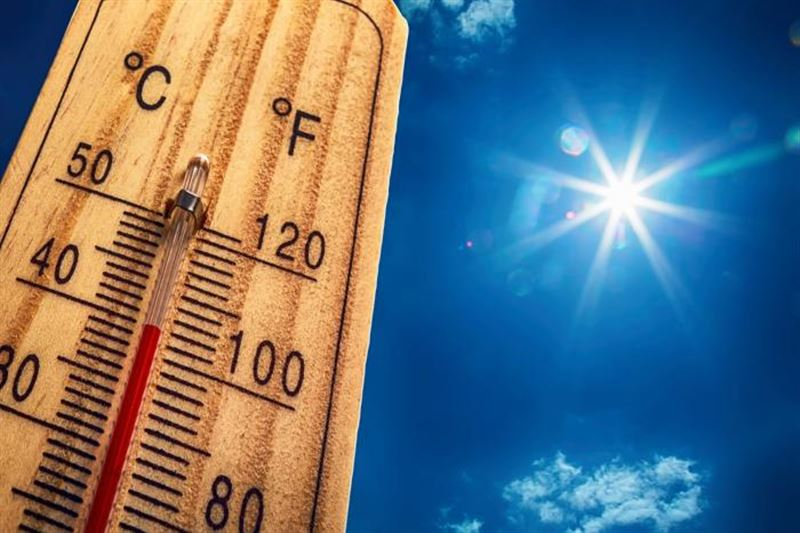 Қазақстанда 39 градус ыстық болады