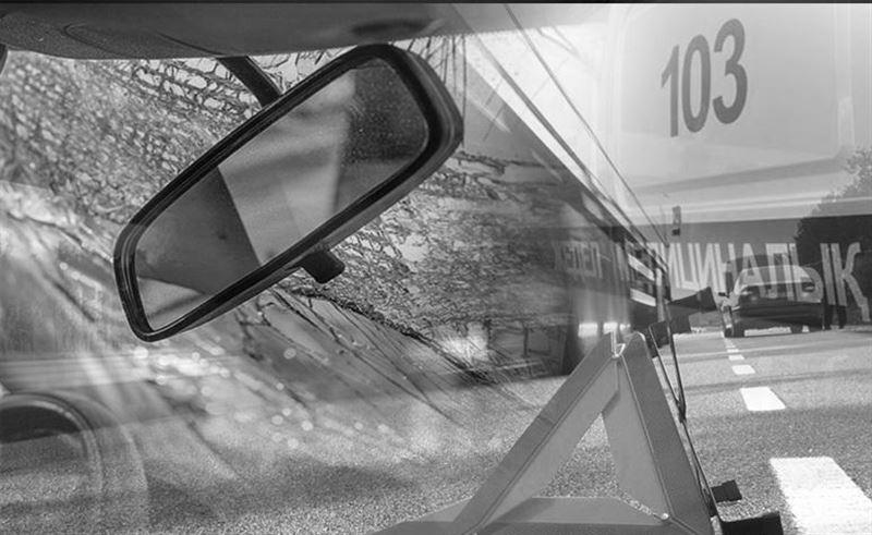 Ақтөбеде жол апатынан велосипед жүргізушісі көз жұмды