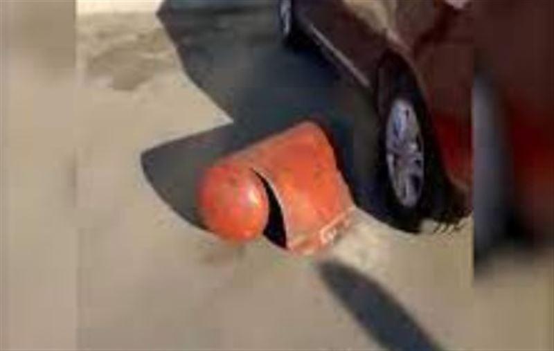 Газовый баллон взорвался в автомобиле в Кокшетау