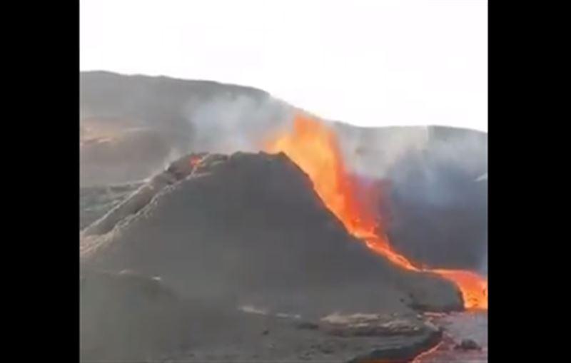 На продажу был выставлен проснувшийся вулкан в Исландии