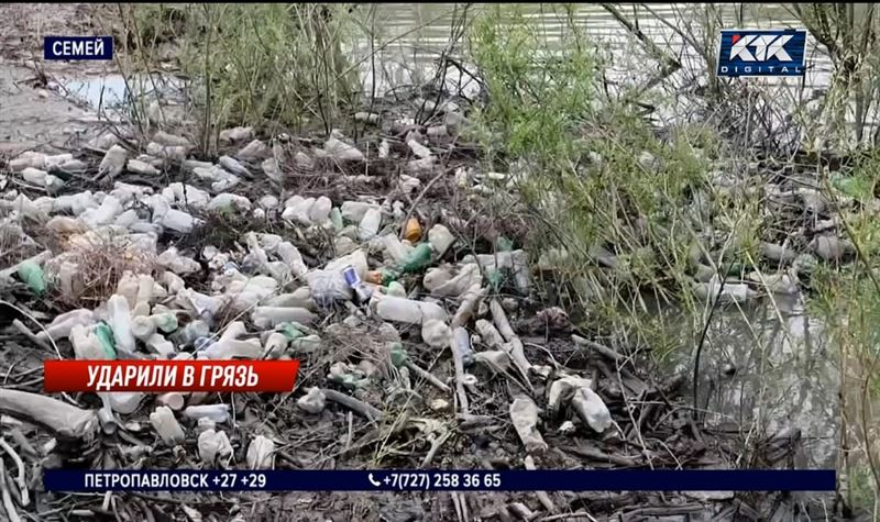 «Россия предъявит иски»: Иртыш заваливают мусором