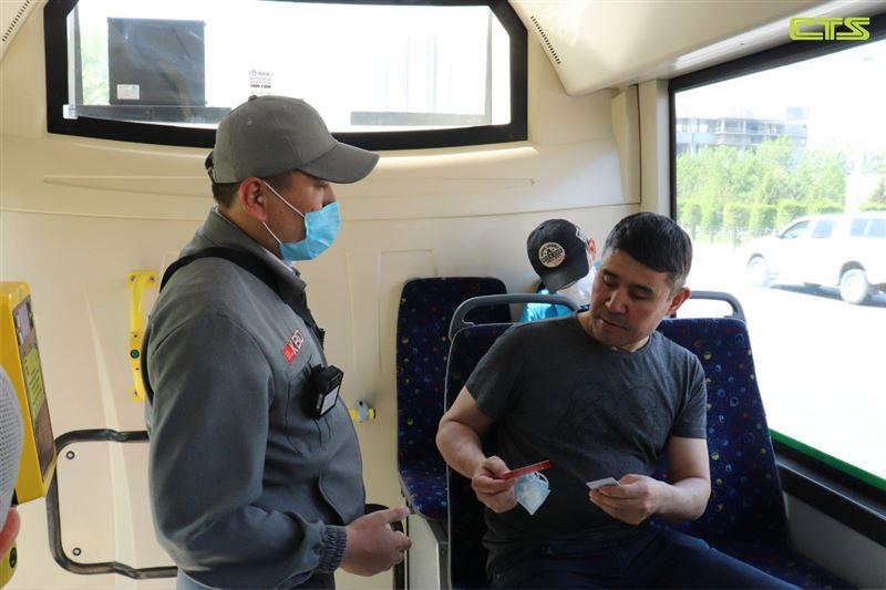 В столице с начала года выявлено более 5 тысяч человек без масок в общественном транспорте