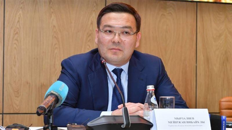 Что сообщается о задержании замакима Туркестанской области