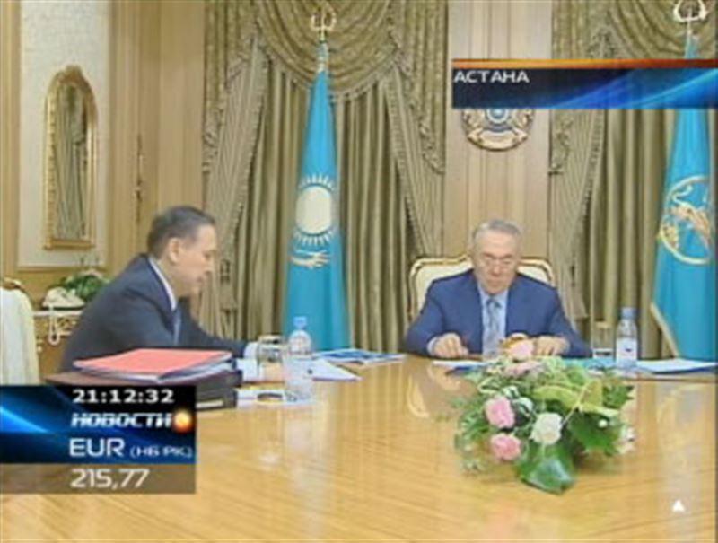 В Ак Орде Нурсултан Назарбаев принимал министра внутренних дел республики и задавал ему неловкие вопросы