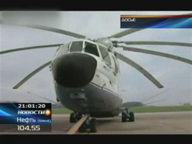 Из Казахстана в Россию незаконно ввезли два военных вертолёта