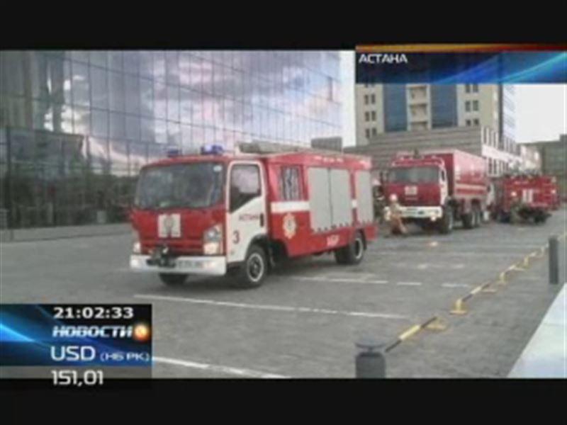 Из-за пожара в медиацентре Астаны сдвинулась сетка телерадиовещания