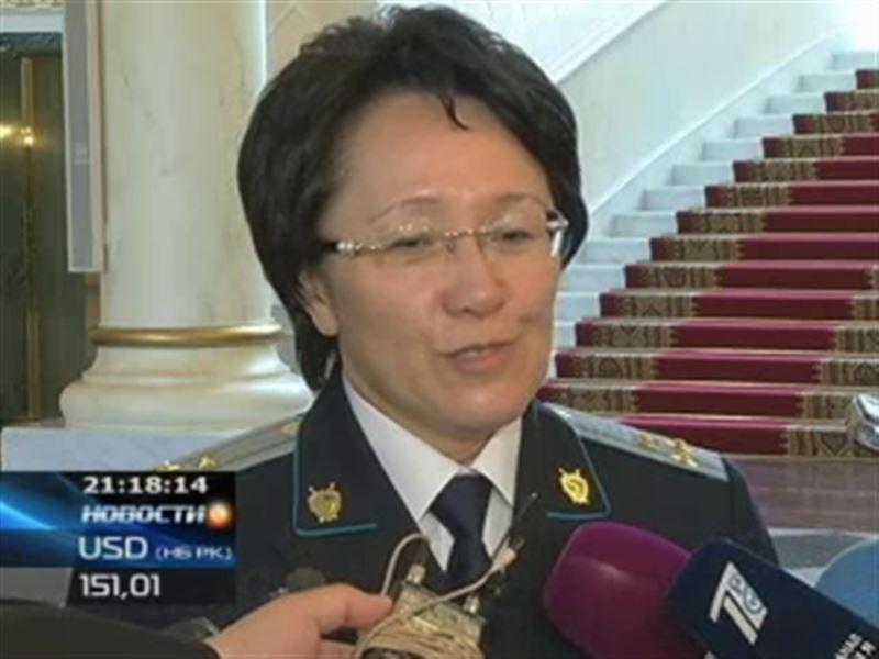 В Казахстане появилась первая женщина-генерал