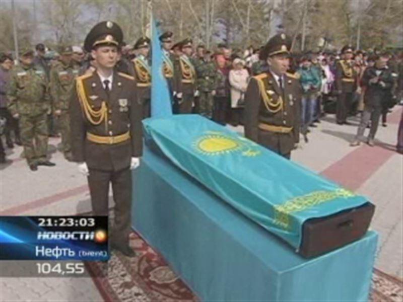 В Павлодарской области захоронили солдата, который 70 лет числился пропавшим без вести
