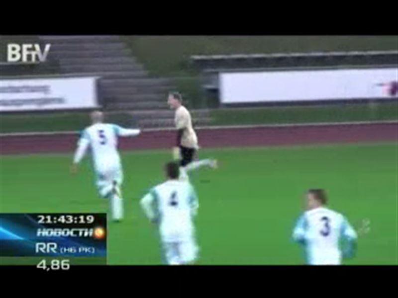Вратарь Витус Айхер забил чудо-гол