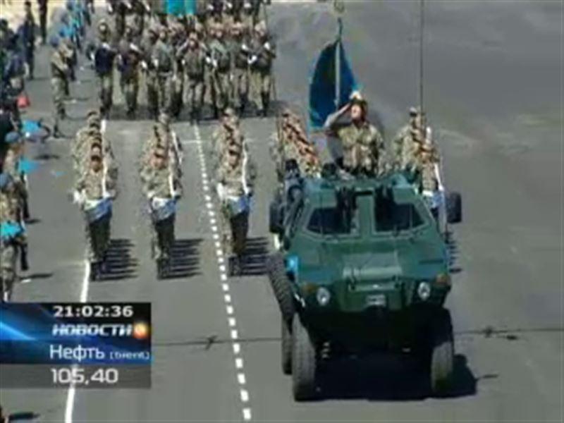 В первом боевом параде участие приняли более 7 тысяч военнослужащих