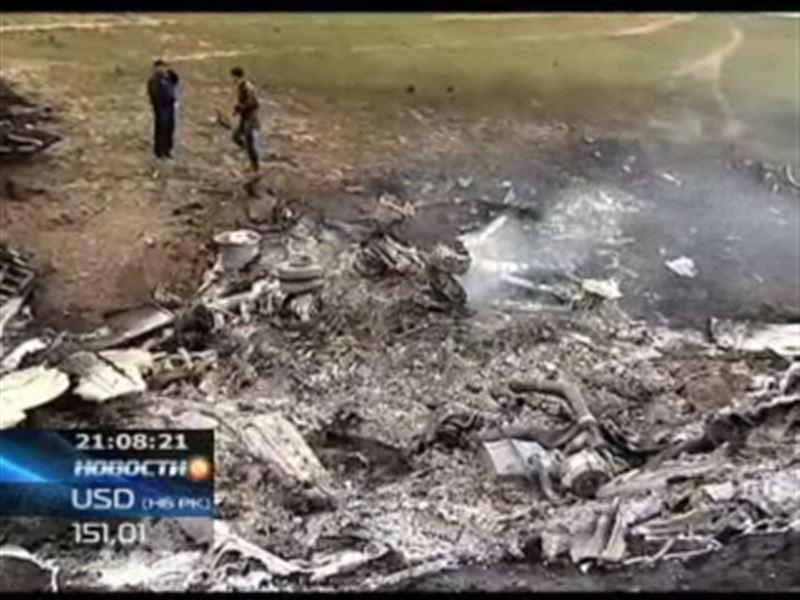 На месте крушения КС-135 до сих пор не нашли чёрный ящик