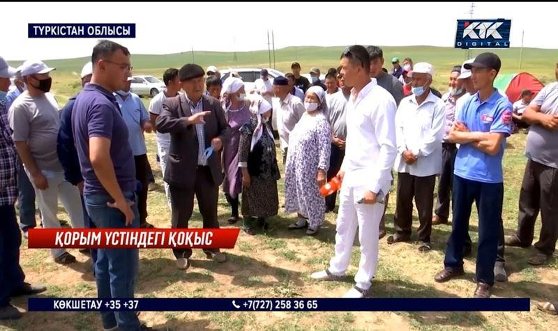 Қорымның үстіне қоқыс полигонын салмақшы – Түркістан облысы