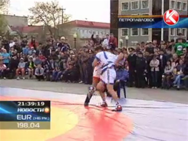 В Петропавловске определился победитель «Кызылжар Барысы»