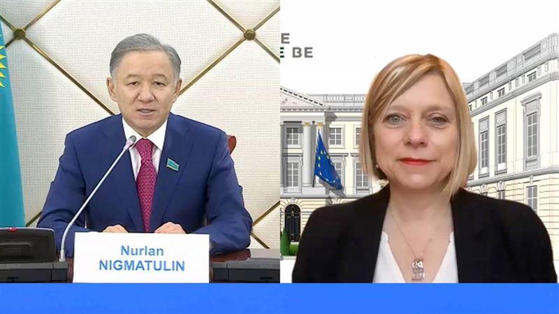 Что обсудили Нигматулин и спикер палаты представителей Парламента Бельгии