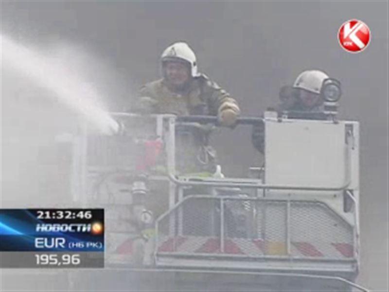 Казахстанские пожарные задолжали за воду 110 миллионов