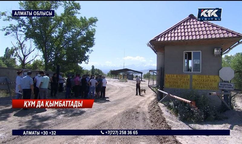 Алматы облысында қиыршық тас пен құм қымбаттаған