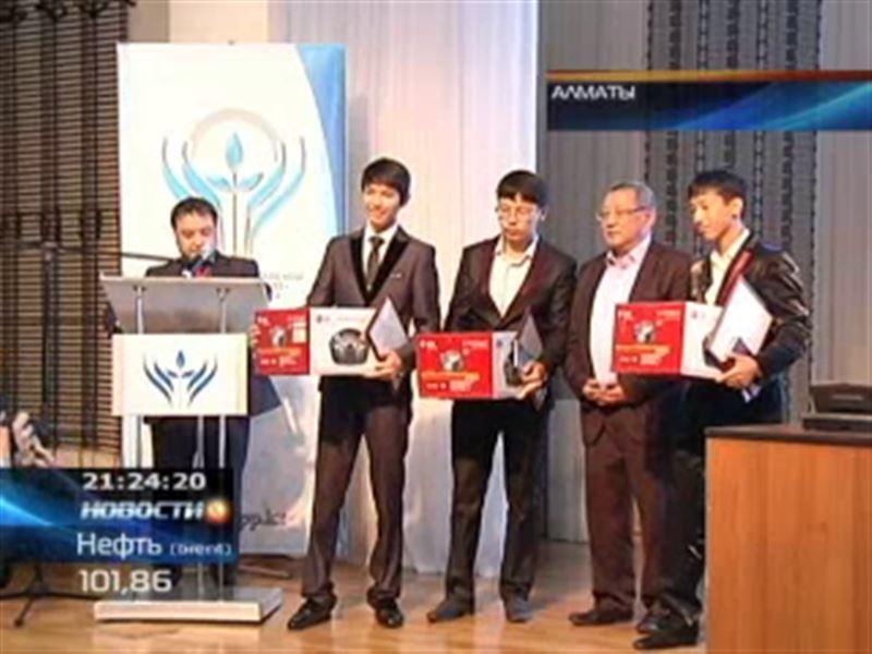 В Алматы одарённым школьникам подарили пневматические винтовки