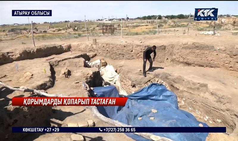 Сарайшықтағылар археологтарға қарсы шықты – «Аруақты қорламасын!»