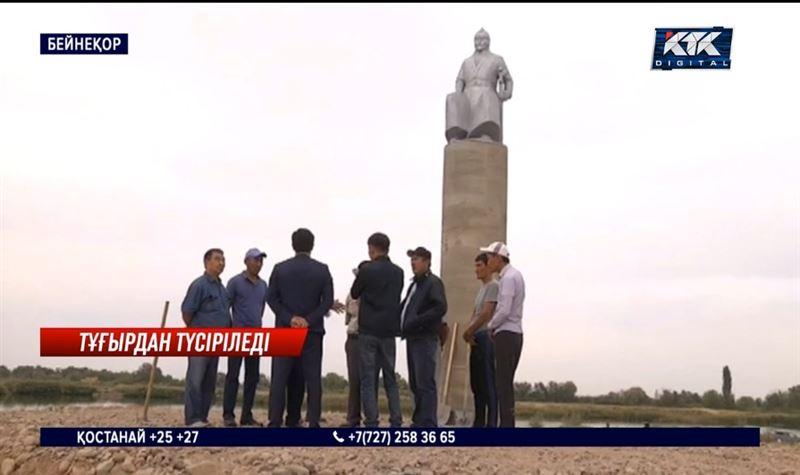Кенесары ескерткіші тұғырынан түсірілетін болды – Жамбыл облысы