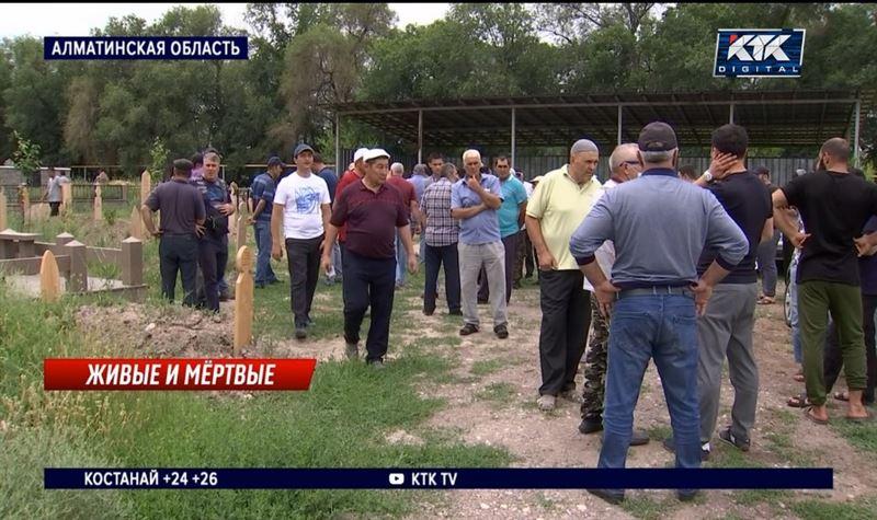 Сельчане защищают кладбище, земли которого перешли в частные руки