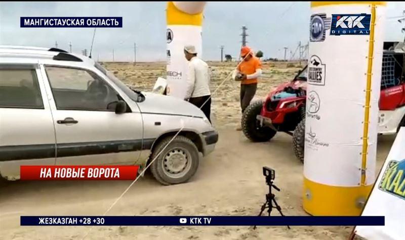 Владелец баранов попытался остановить «Ралли Казахстан – 2021»
