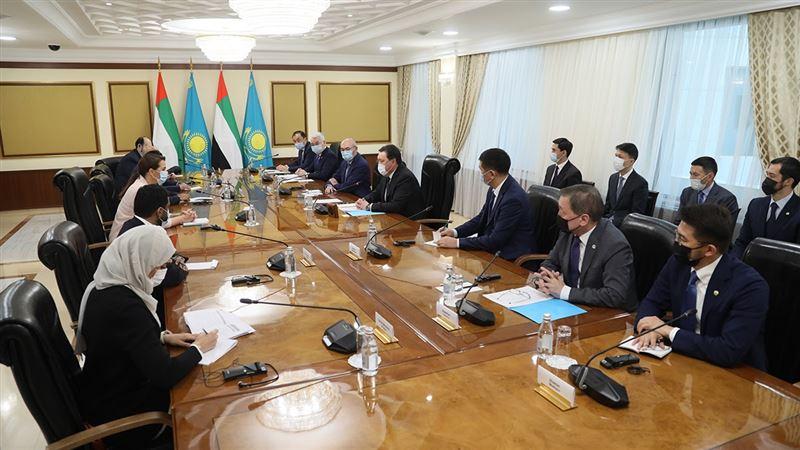 Аскар Мамин обсудил с министром продовольственной безопасности ОАЭ реализацию совместных инвестпроектов