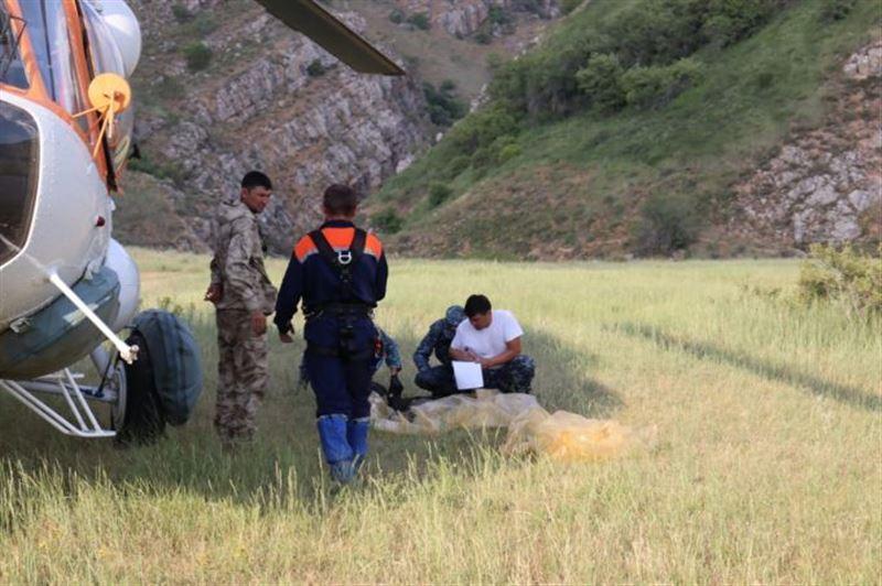 В горах Туркестанской области найдено тело одного из пропавших туристов