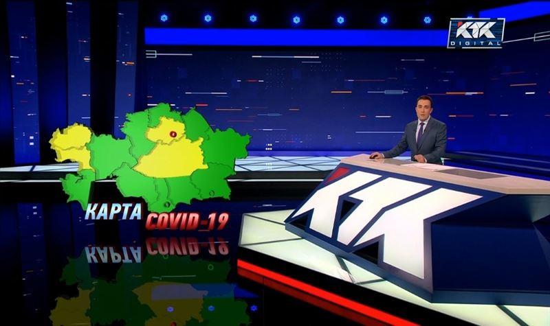 Алматы стал «зеленым» на карте ковида