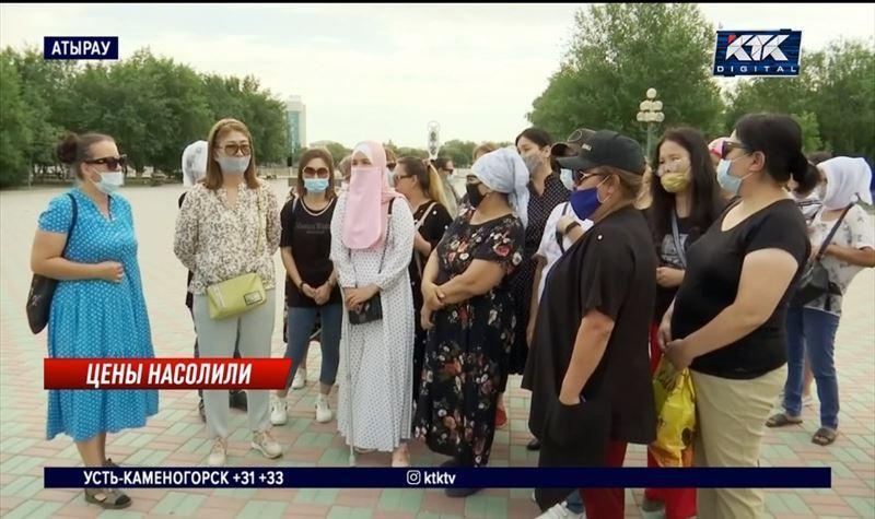 Атырауские многодетные матери показали акимату, что едят и в чем ходят