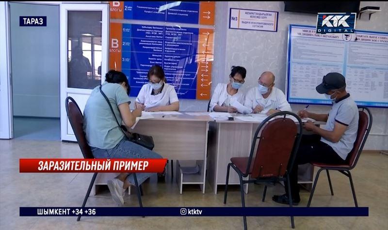 Новую вакцину QazCoVac-P испытают на добровольцах за 200 тысяч