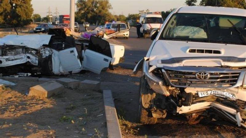 Страшная авария произошла в Актобе