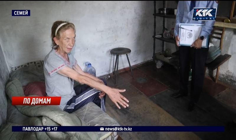 В Семее полиция устроила рейд по квартирам дебоширов