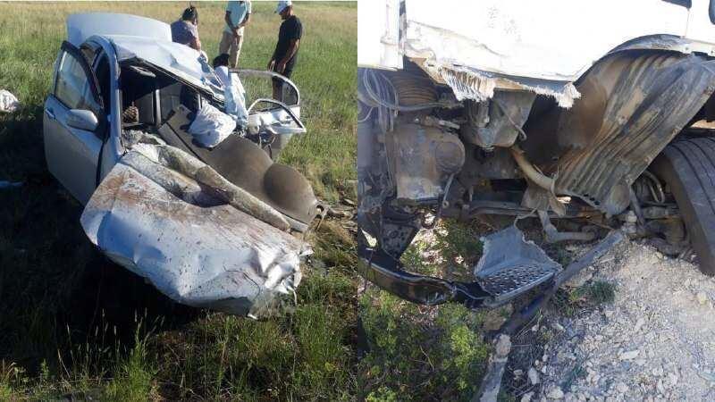 Трое погибли в аварии в Актюбинской области
