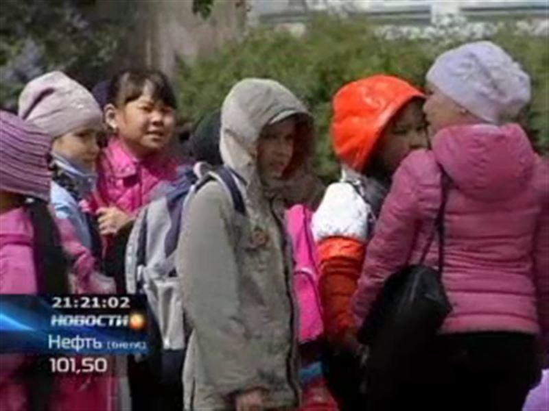 Газовая атака в одной из школ Павлодара
