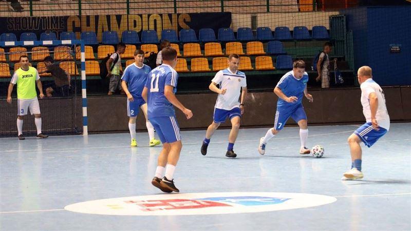 Второе место заняли транспортные полицейские РК на Международном турнире по мини-футболу